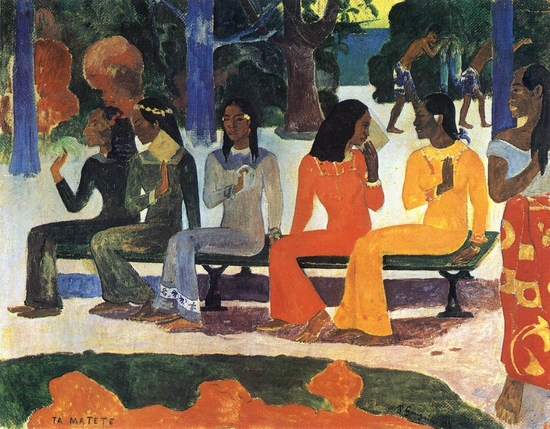 Paul Gauguin - Ta Matete