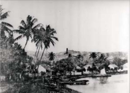 Gustave Viaud - Papeete, le bord de mer