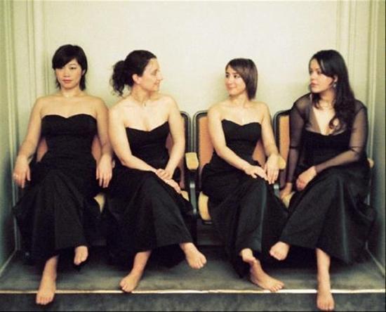 Quatuor Psophos<br />© Julien Mignot