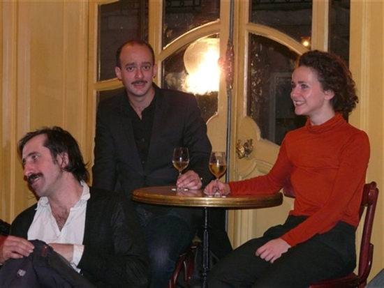 rencontre : Joséphine Serre, David Geselson et Anthony Paliotti<br />