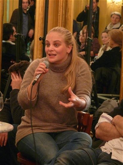 rencontre : Juliette Delfau<br />