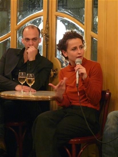 rencontre : Joséphine Serre et David Geselson<br />