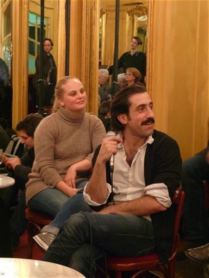 rencontre : Juliette Delfau et Anthony Paliotti<br />